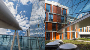 Futurystyczne bryły i szklane elewacje. Nowe budynki dla naukowców z UW