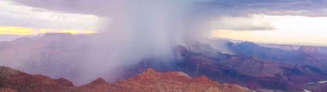 """Piorunujące widoki nad Wielkim Kanionem. <br />Na taką burzę warto """"polować"""""""