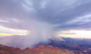 """Piorunujące widoki nad Wielkim Kanionem. Na taką burzę warto """"polować"""""""