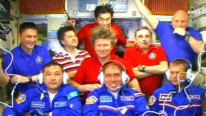 Na ISS coraz ciaśniej. Mieszka tam już <br />dziewięciu astronautów