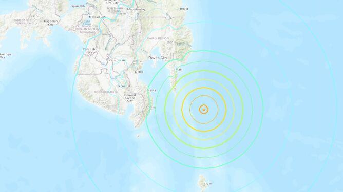 Minuta strachu. Silne trzęsienie ziemi na Filipinach