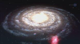 Chmura gazowa Smitha na trasie Drogi Mlecznej