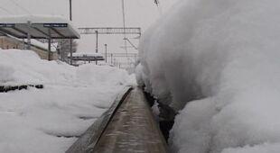 Problemy z pociągami w Zakopanem (TVN24)